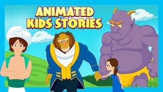 Download ANIMATED KIDS STORIES - The Selfish Giant, The Beauty & The Beast AND Aladdin -KIDS HUT STORYTELLING Video