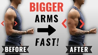 Download How to Get Bigger Arms FAST (4 Science-Based Tips) Video