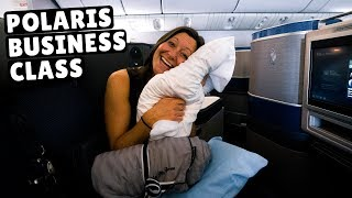 Download 13 Hours in United's POLARIS BUSINESS CLASS (flying standby) Video