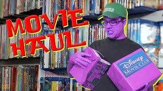 Download Largest Disney Movie Club Haul Ever Video