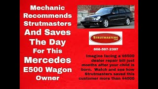 Download 2003-2006 Mercedes E 500 Air Ride Conversion By Strutmasters Video