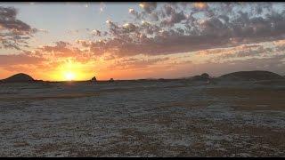 Download EGYPT / EGYPTE 4K White Desert - Désert Blanc - Désert Libyque - Bahariya - Sunset Video