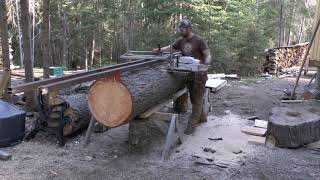 Download Logs to Lumber: Alaskan Chainsaw Milling Video