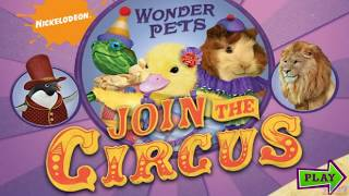 Download Wonder Pets Join the Circus - Nick Jr. | Cartoon Game Episode for Kids Video