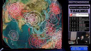 Download 3/26/2017 - Nightly Earthquake Update + Forecast - MULTIPLE AREAS HIT WHILE LIVE STREAMING! Video