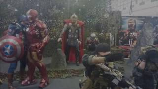 Download Avengers Mannequin Challenge with Jack Sparrow Video