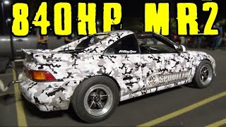 Download 800+hp K24 Toyota MR2 vs GT-R and 1000hp Camaro STREET RACE! Video