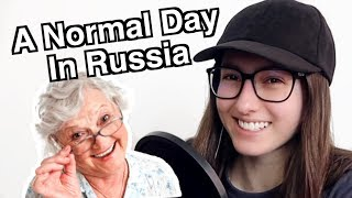 Download Slav Girl Reaction to r/anormaldayinrussia Video