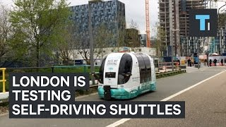 Download London is testing out self-driving shuttles Video