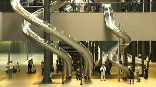 Download Students slide to classes in Munich Video