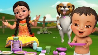 Download Dosamma Dosa | Telugu Rhymes for Children | Infobells Video