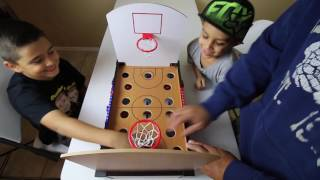 Download TABLETOP BASKETBALL! (trick shots) Video