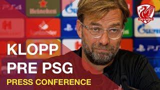 Download Jurgen Klopp Press Conference   Liverpool vs. PSG Video