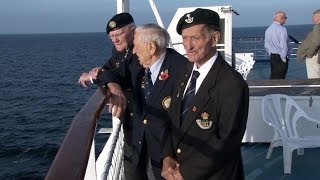 Download Three D-Day Veteran Friends Travel to Normandy 03.06.14 Video