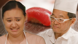 Download Asian Americans Learn How To Make Sushi Video