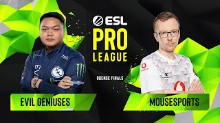 Download CS:GO - Evil Geniuses vs. mousesports [Train] Map 1 - Quarterfinals - ESL Pro League Season 10 Final Video