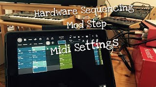 Download Hardware Sequencing with Mod Step : Midi Settings Video
