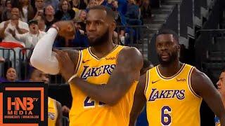 Download Los Angeles Lakers vs Golden State Warriors 1st Half Highlights | 10.10.2018, NBA Preseason Video