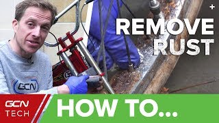 Download How To Remove Rust From Your Bicycle | Clean Your Bike With Household Products Video