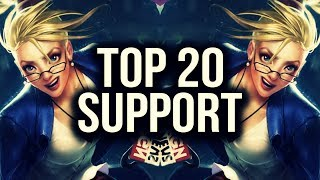 Download Top 20 SUPPORT Plays | League of Legends Video