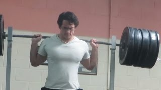 Download 240kg/529lbs Pause Squat for 8 reps - Thursday Training Session Video