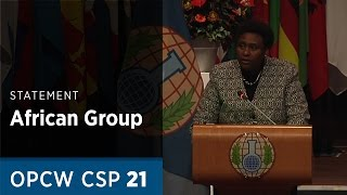Download Message on behalf of the African Group delivered by H.E. Mrs. Rose M. Muchiri at CSP21 Video