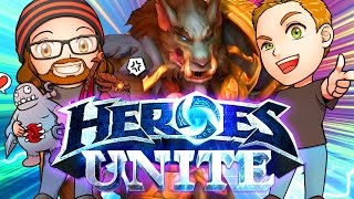 Download HEROES UNITE w/ GREYMANE | MFPallytime & Mewnfare | TGN Squadron Heroes of the Storm Gameplay Video