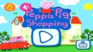 Download Peppa Pig Shopping | Peppa Pig Games | Peppa Pig Shopping Gameplay | Best Peppa app demo for kids Video