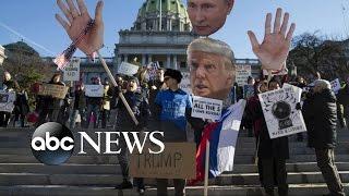 Download Donald Trump Surpasses 270 Electoral Votes Despite Calls for Protest Video
