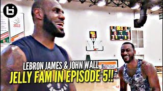 Download LeBron James vs John Wall + Superstar Jelly Fam?! NO OFF SEASON   episode 5 Video