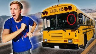 Download FOUND ABANDONED SCHOOL BUS (Exploring YouTube Hacker Evidence & Hidden Treasure Mystery Clues) Video
