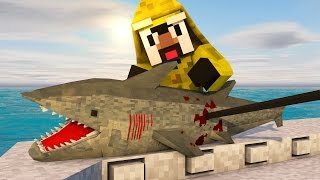 Download Minecraft | JAWS SHARK HUNTING CHALLENGE - Shark Hunting With Guns! (JAWS, SHARKS, BOAT MOD) Video