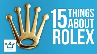 Download 15 Things You Didn't Know About ROLEX Video