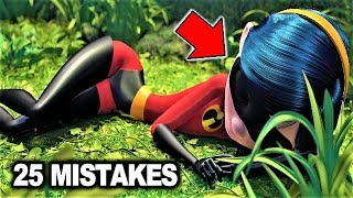 Download 💥 25 BIGGEST MISTAKES in THE INCREDIBLES Video