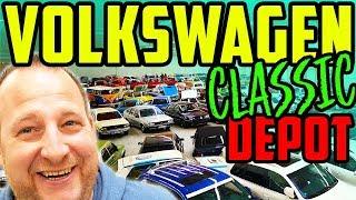 Download Das HAUT euch UM! - Marco im Volkswagen Classic Depot - Viele Erinnerungen! - Teil 1/2 Video