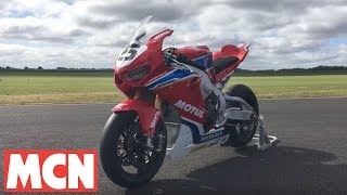 Download John McGuinness shows off 2017 TT Fireblade | Interviews | Motorcyclenews Video