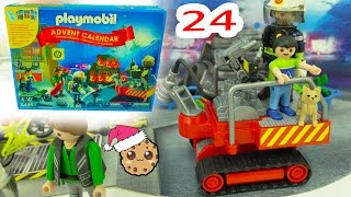 Download Christmas Eve - Playmobil Holiday Christmas Advent Calendar - Toy Surprise Blind Bags Day 24 Video