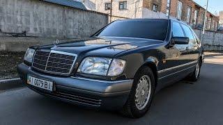 Download Кабан с малым пробегом: Mercedes W140 1995 года S 320 тест обзор Video