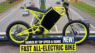 Download 10 Powerful Electric Bicycles Available in 2019: Ranked by Top Speed & Biking Range Video