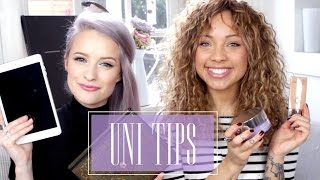 Download Uni/College Tips & Essentials! with Inthefrow | GIRL TALK Video