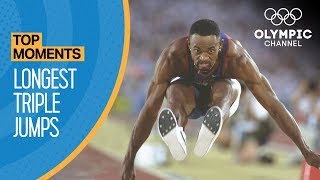 Download The Longest Ever Olympic Triple Jumps | Top Moments Video
