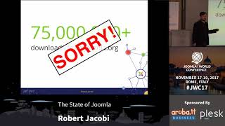 Download The State of Joomla - Robert Jacobi Video
