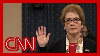 Download Former US Ambassador to Ukraine Marie Yovanovitch impeachment hearing full remarks Video