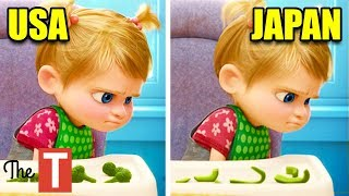 Download 10 Animated Movie Changes In Other Countries Video