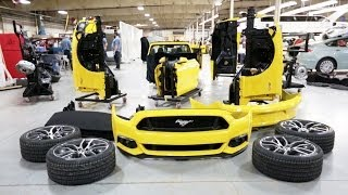Download ► 2015 Ford Mustang Build Dry Run Timelapse Video