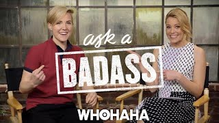 Download Hannah Hart on Elizabeth Banks' ″Ask A Badass″ Video