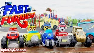 Download THE FAST & THE FURRIEST Paw Patrol & Blaze Nick Jr. Toy Video for Kids a Parody Paw Patrol Video Video