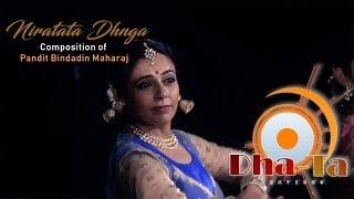 Download NIRATATA DHANGA | Composition of Pandit Bindadin Maharaj Video