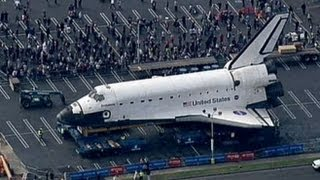 Download Space Shuttle Endeavour to Reach Final Resting Place; Retired Ship Makes Way Through Los Angeles Video