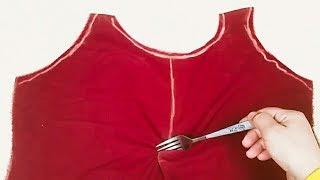 Download فستان بنوته بنص متر قماش فقط وبطريقة سهله جدآ Video